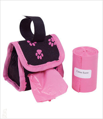 Designer Bags on a Roll in Pink - Cirtus Scent