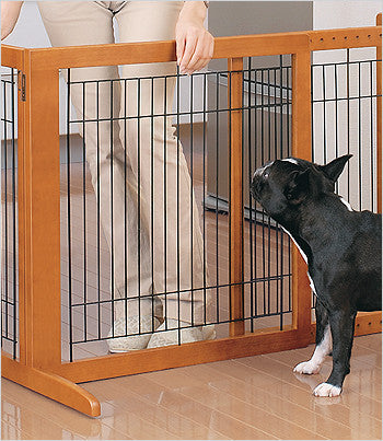 Outlet: Freestanding Gate Tall - Autumn Matte