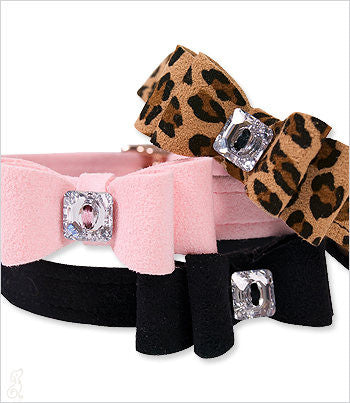 Susan Lanci Ultrasuede Dog Collar