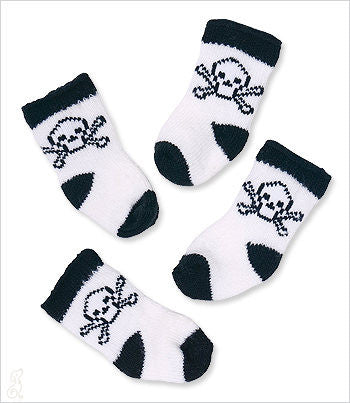 Skull Socks for Small Dogs