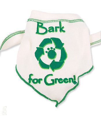 dog scarf bark for green