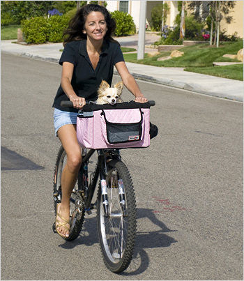 Pink Dog Bike Basket