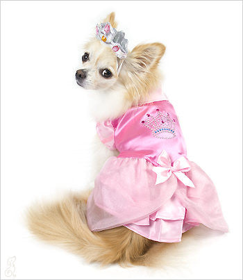 Pink Princess Dog Costume