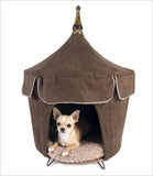 Outlet: Vive la Chocolate Pet Tent Dog Bed