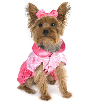 Pink Party Princess Dog Costume
