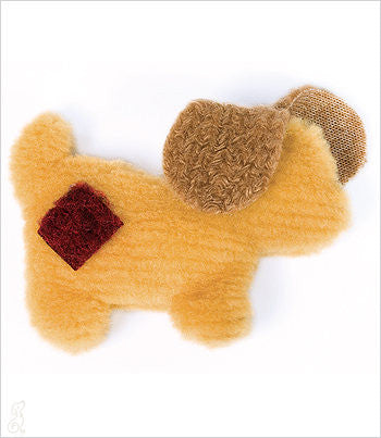 Fuzzy Pup Dog Toy