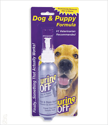 Urine-Off 4 oz. travel bottle