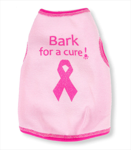 Bark for a Cure Cancer Dog Shirt