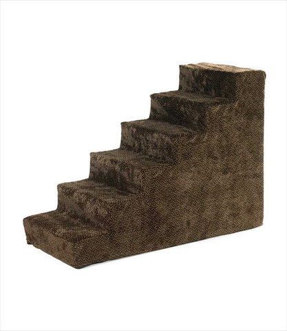 Bowsers Pet Stairs 6-step Chocolate Bones
