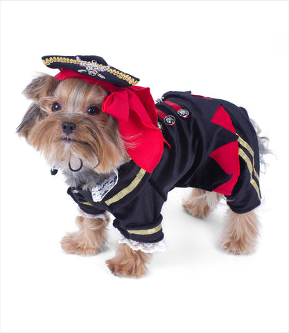 Buccaneer Dog Pirate Costume