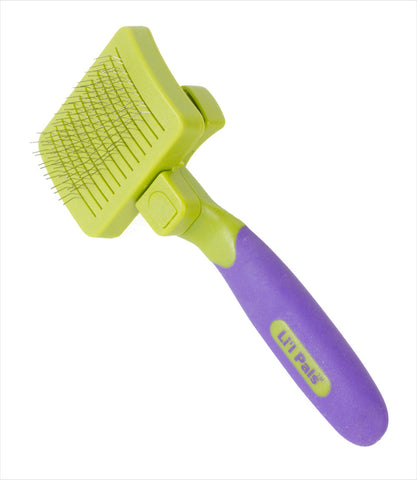 Li'l Pals Self-Cleaning Slicker Dog Brush