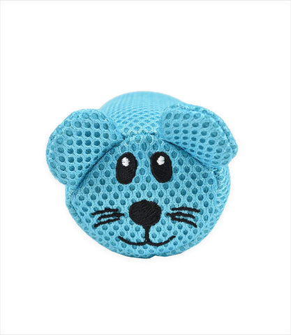 Li'l Pals Mesh Dog Toy with Removable Squeaker