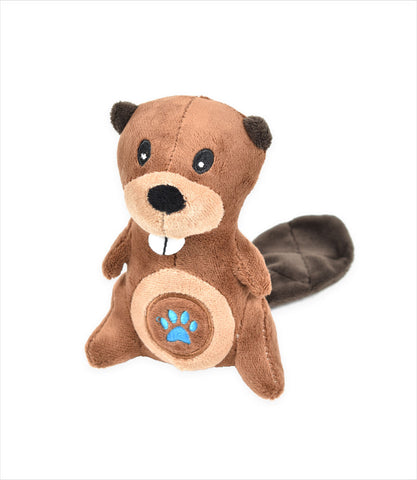 Beaver Li'l Pals Paw Plush Toy for small dogs