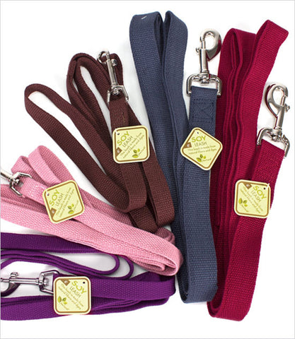 New Earth Soy Dog Leashes