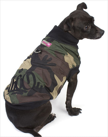 Back View Dog Vest Harness Jacket