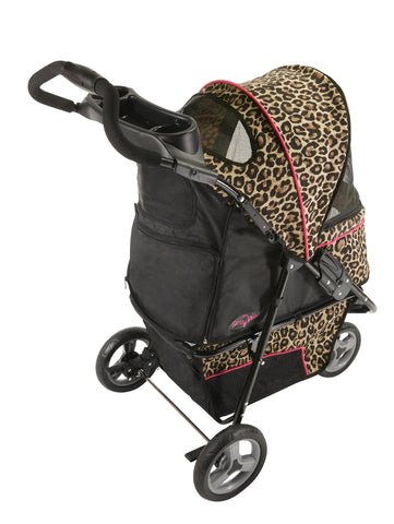 Front View - Cheetah Promenade Pet Stroller