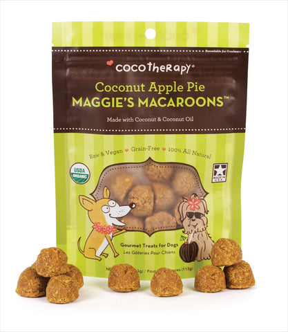 Maggie's Macaroons in Coconut Apple
