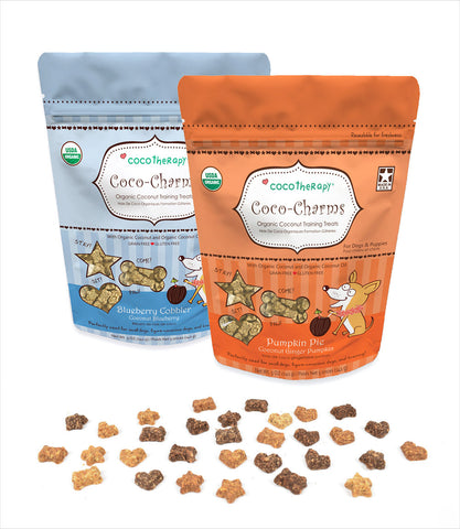 CocoTherapy Coco Charms Organic Healthy Dog Treats
