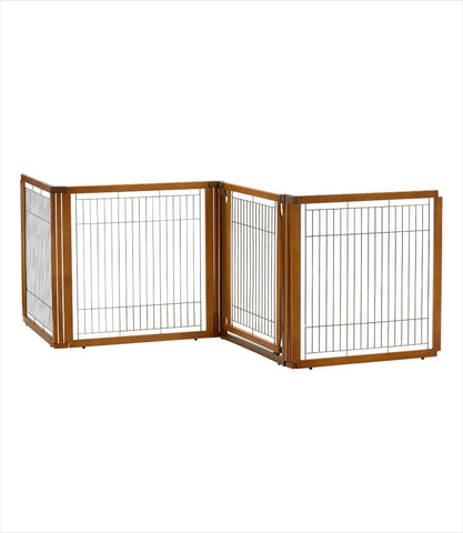 4-panel convertible room divider