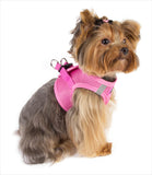 American River Candy Pink Dog Harness on Dog