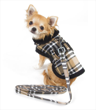 Doggie Design Tan Plaid