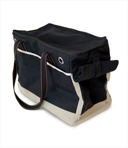 Dogo Big Black Tote for Small Pets