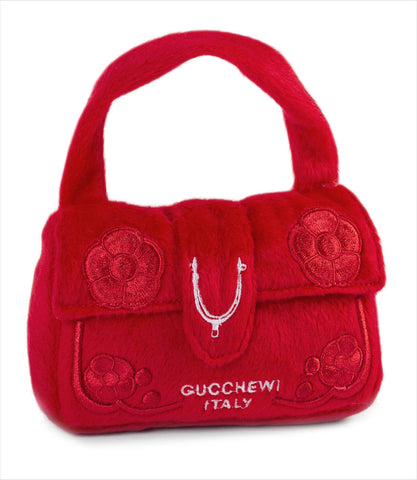 Gucchewi Purse Dog Toy