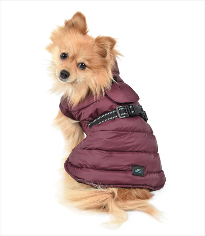 Extreme Cold Puffer Coat for Small Dogs