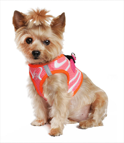 American River Neon Sport Harness in Pink