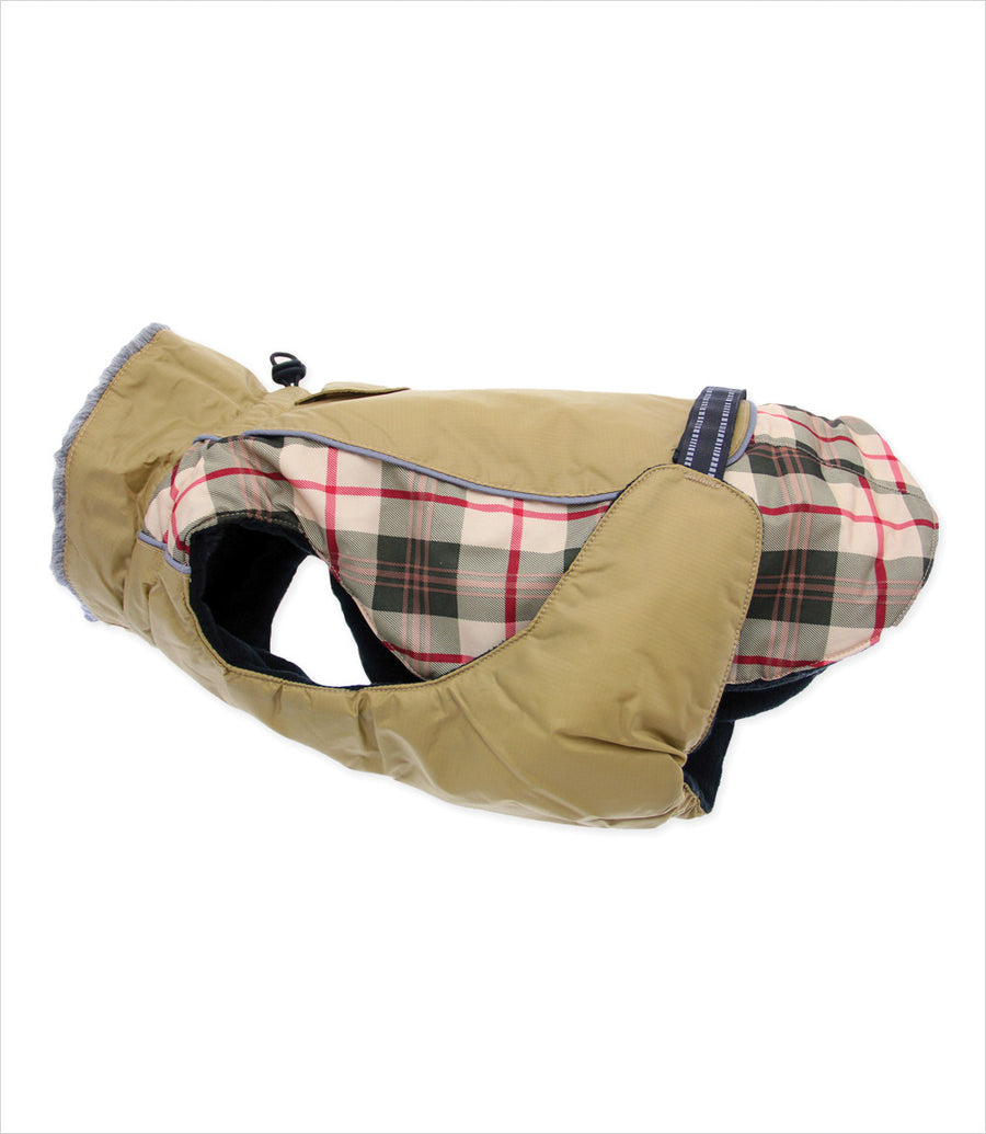 Alpine All-Weather Coat - Beige Plaid