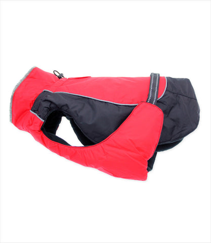 Alpine Winter Jacket - Red and Black