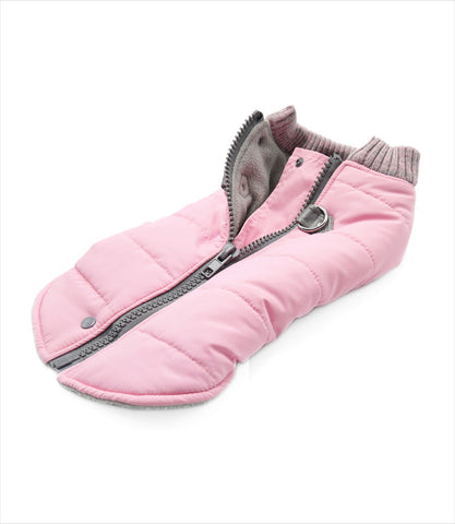 Pink Runner Coat for Small Dogs