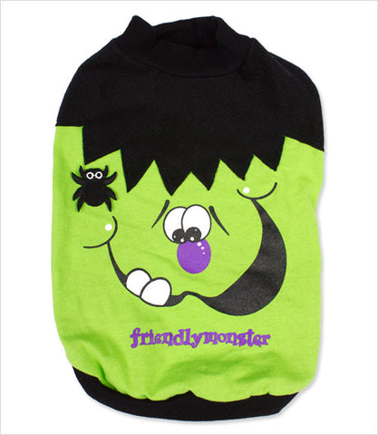 Friendly Monster Dog Halloween Shirt