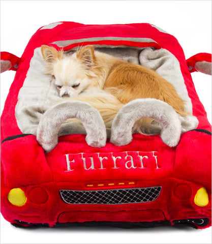 Furrari Dog Car Bed Back