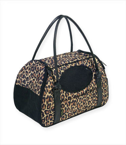 Cheetah Carry-Me Deluxe Pet Carrier