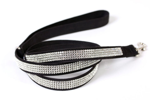 4-Row Giltmore Full-Run Crystal Leash