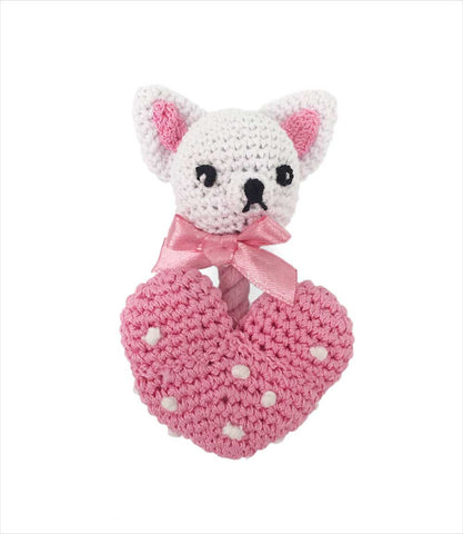 Chihuahua Heart Tiny Dog Toy