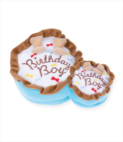 Birthday Boy Cake Dog Toy