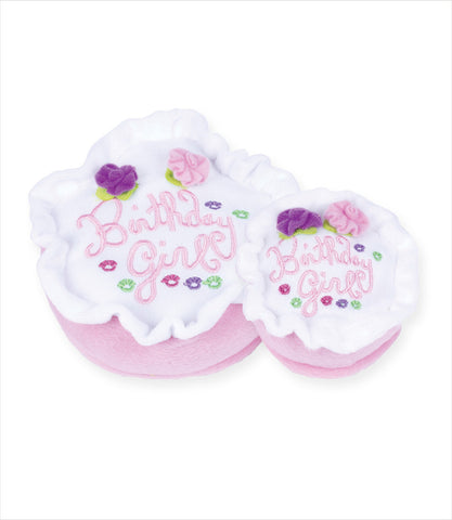 Birthday Girl Cake Dog Toy - 2 Sizes