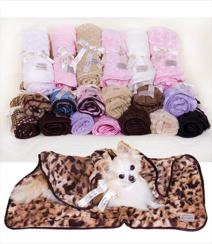 Hello Doggie Luxury Dog Blanket
