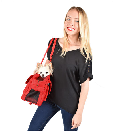 Carrier purse for small dogs