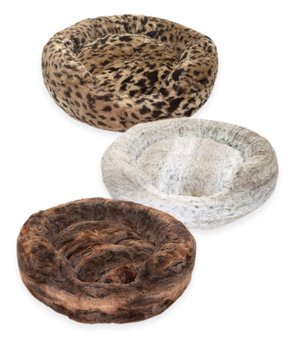 Animal Print Amour Dog Beds