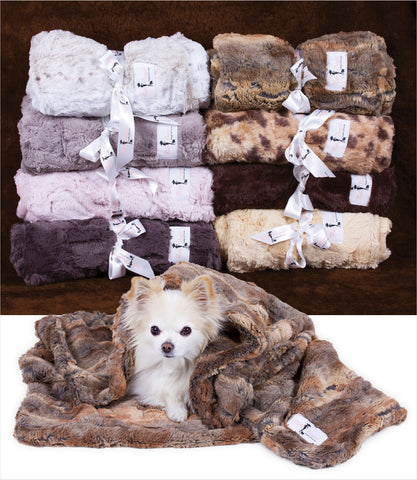 Hello Doggie Luxe Dog Blanket Group