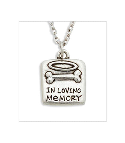 In Loving Memory - Dog Memorial Necklace
