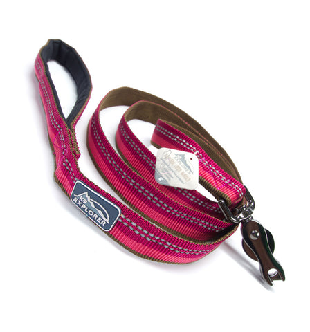 K9 Explorer dog leash - Berry