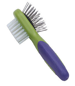 small dog combo grooming brush