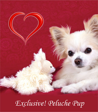 Peluche Pipsqueak Pup Toy