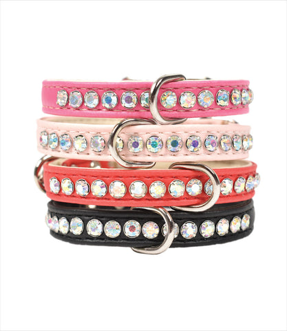 Luxe Pets Vegan Leather Small Dog Collars