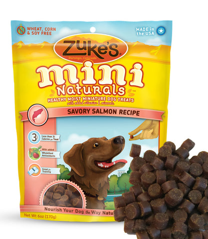 Zukes Mini Naturals Treats - Peanut Butter