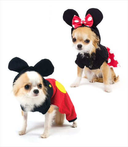 Boy and Girl Mouse Costume for Dogs